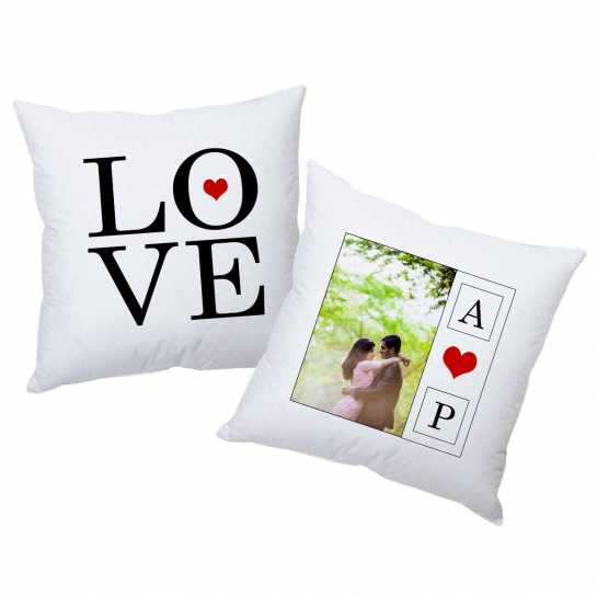 Love Inititails - Personalized Cushions