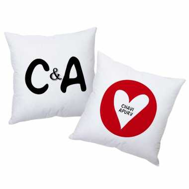 Names in Heart - Personalized Cushions