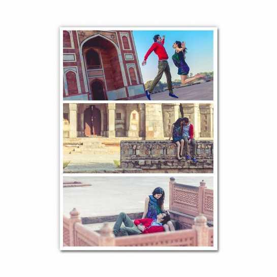 Photo Collage (3 Photos) - Layout 1