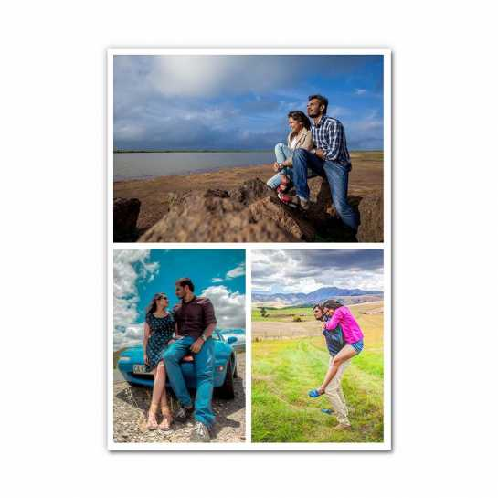 Photo Collage (3 Photos) - Layout 2