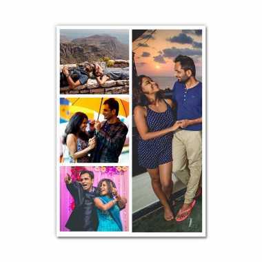 Photo Collage (4 Photos) - Layout 2