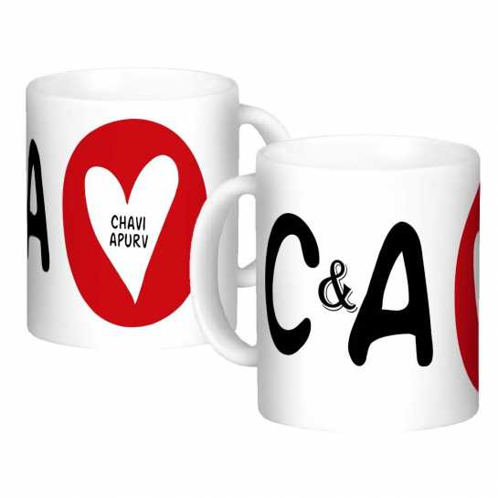 Personalized Mug for Couple - 73