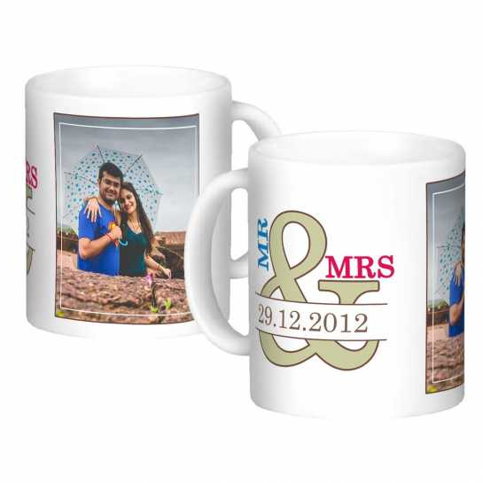 Personalized Mug for Married Couple - 88