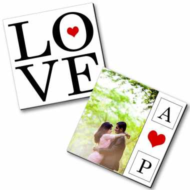 Personalized Magnet Couple - 3