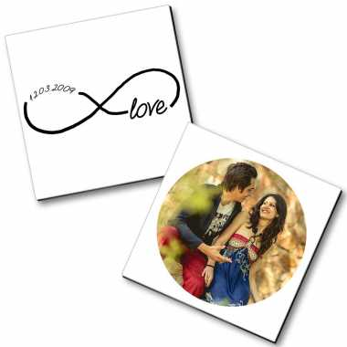 Personalized Magnet Couple - 4
