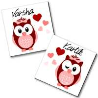 Personalized Magnet Couple - 21