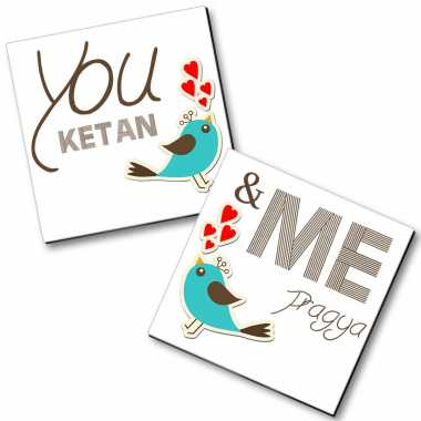 Personalized Magnet Couple - 24