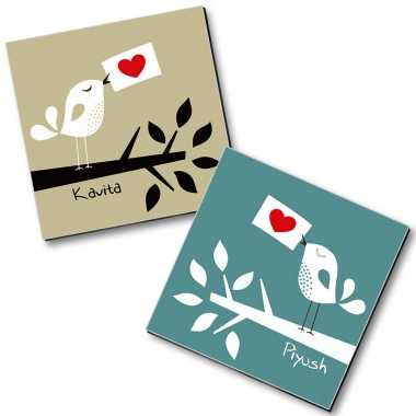 Personalized Magnet Couple - 25