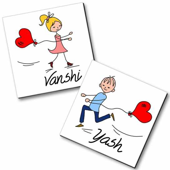 Personalized Magnet Couple - 27