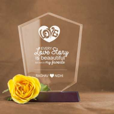 Our Love Story - V Shaped Memento