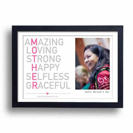 MOTHER - Personalized Frame