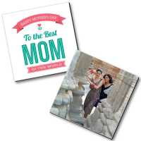 To The Best Mom - Personalized Magnets (2 pc)