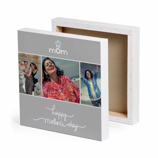 Happy Mother's Day Mom - Personalized Canvas
