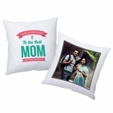 Best Mom In The World - Personalized Cushion