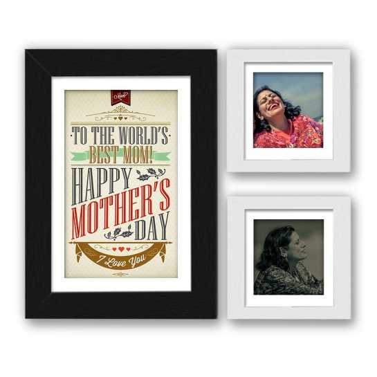To The World's Best Mom - Personalized Frame