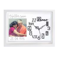Personalized Canvas Clock