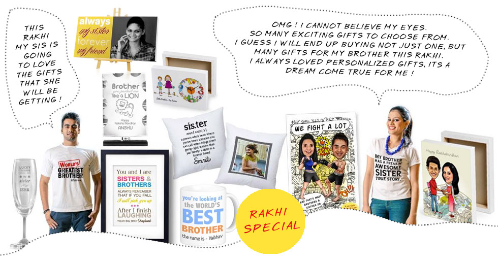 Browse gifts for Rakhi