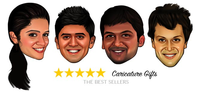 gifts for brother - Caricature