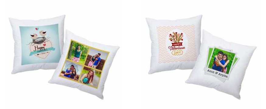 valentine day cushions