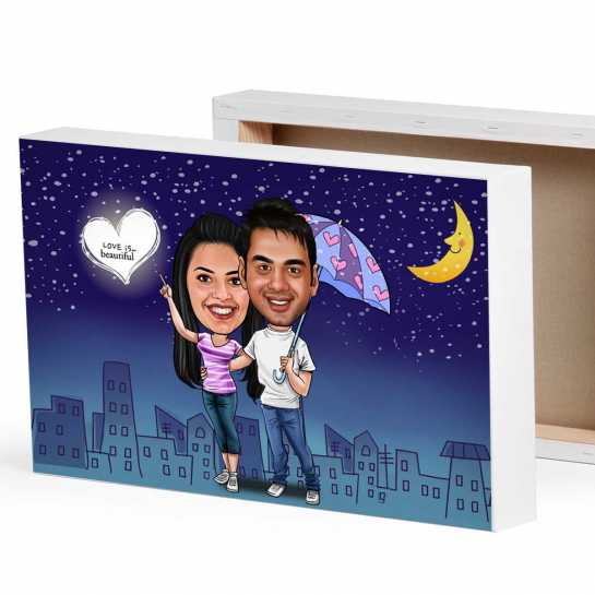 Romance Moonlight - Valentine theme for Couples