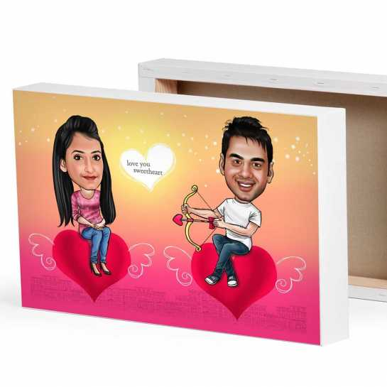 Bow Arrow - Valentine theme for couples