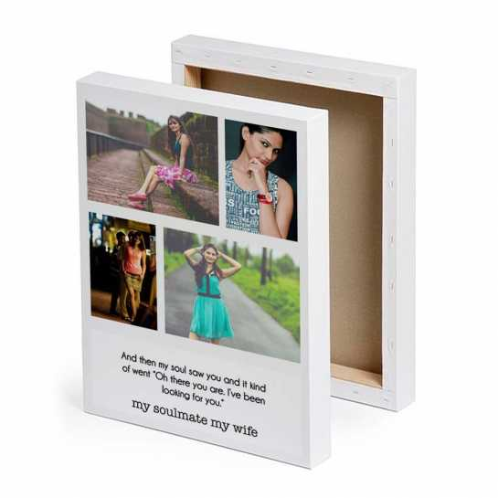 Personalized Gifts - collage photo canvas