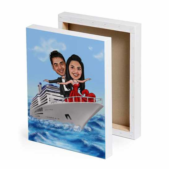 Titanic Pose - Valentine day designs for Couples