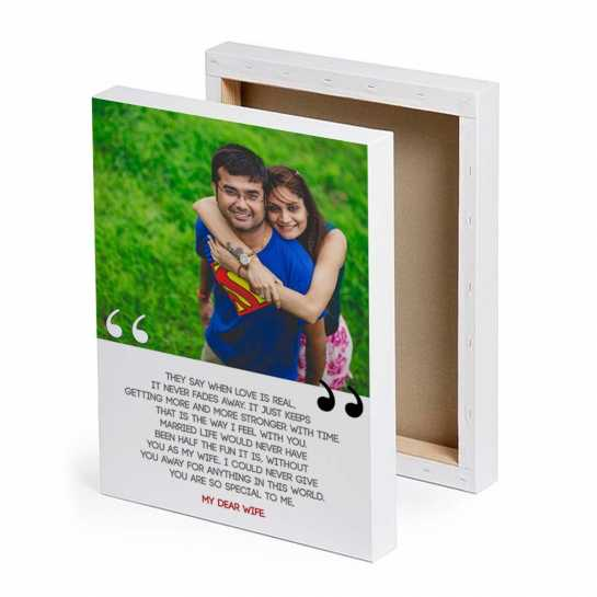 best gifts for wife - canvas prints