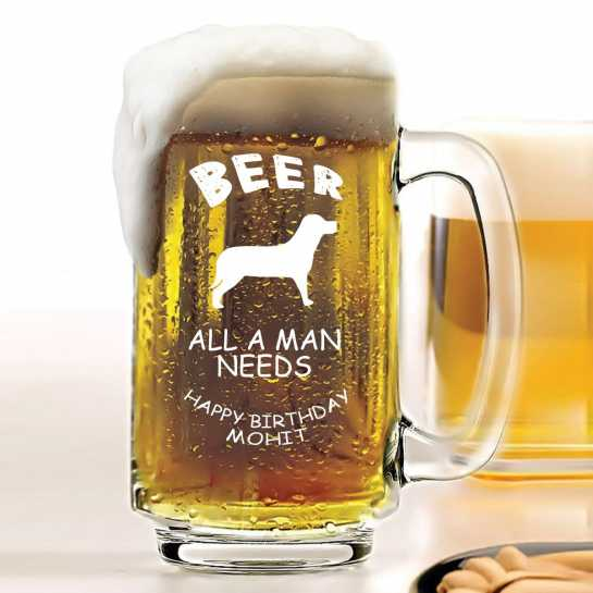 Birthday Gifts for Brother - Beer Mug