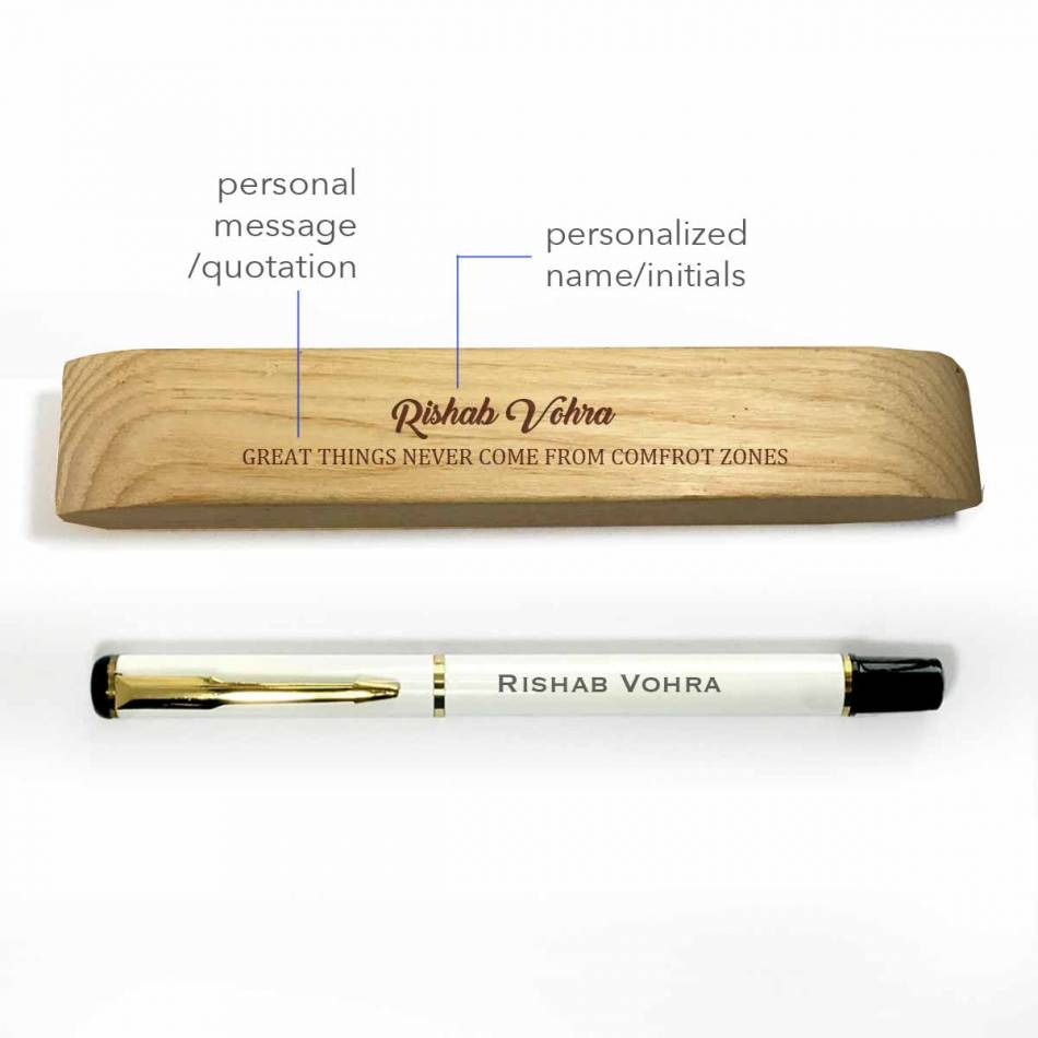 Birthday Gifts for Brother - Engraved Pen with Box