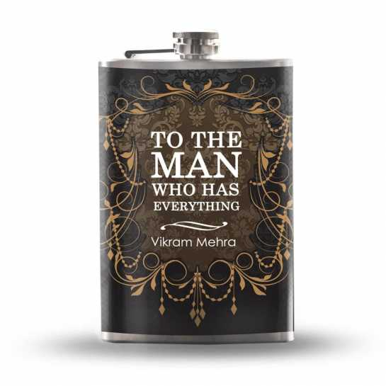 Gift for Husband - Hip Flask