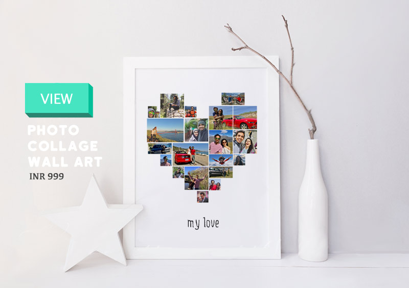 Wall Art Personalized Photo Frame