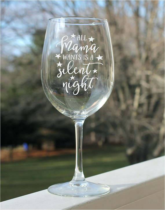 Etched Personalized Wine Glasses online
