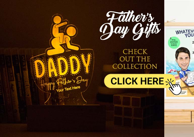 Fathers day gifts by Dezains