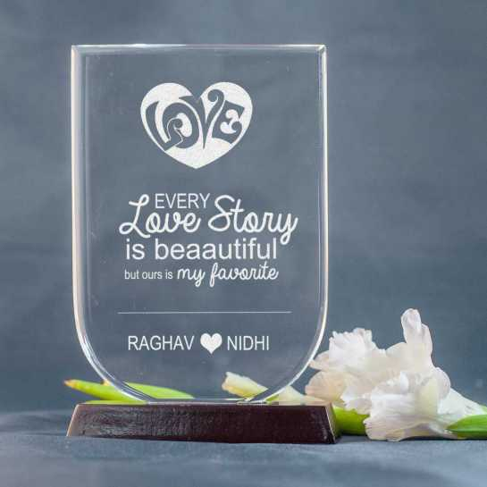 engraved memento - husband anniversary gift