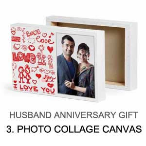 anniversary gift for husband - canvas prints