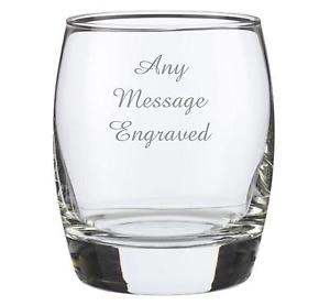 Personalized Whiskey Glasses Engraved Online